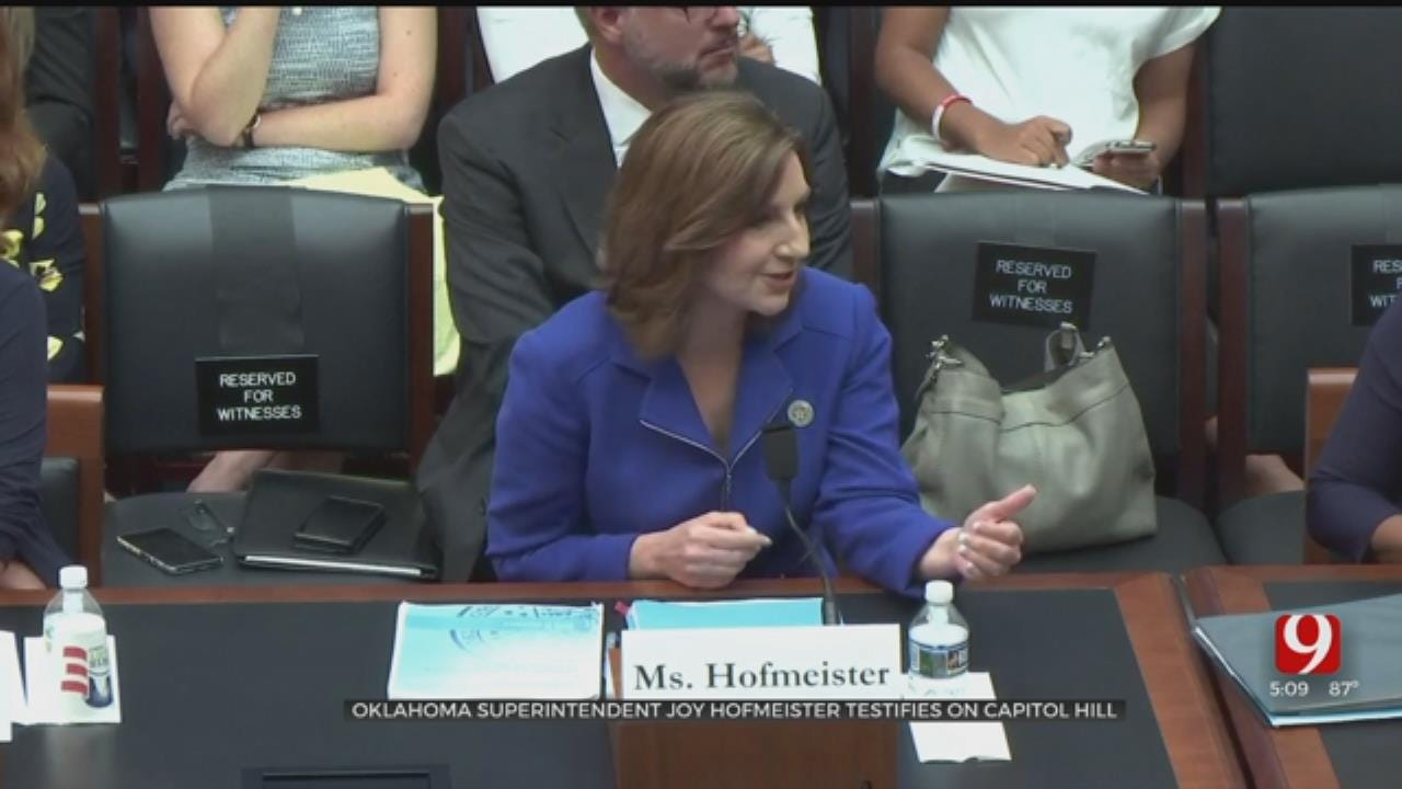 State Supt. Hofmeister Testified Before U.S. House Committee On The Importance Of 'Trauma-Informed' Teaching