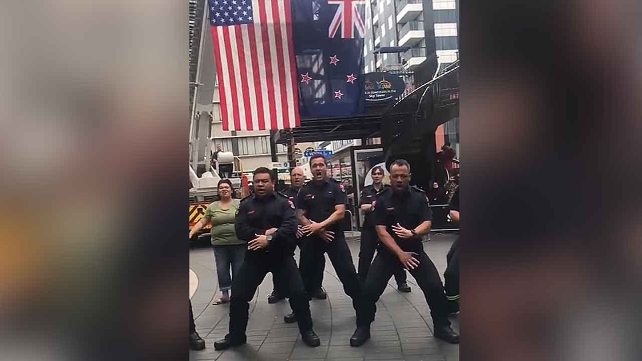 New Zealand Firefighters Honor 9/11 First Responders With Haka