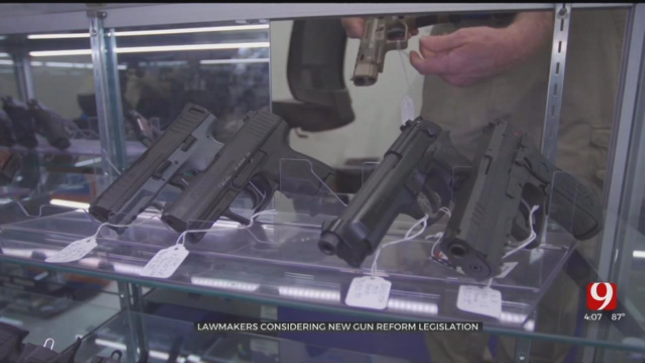 Lawmakers Considering New Gun Reform Legislation