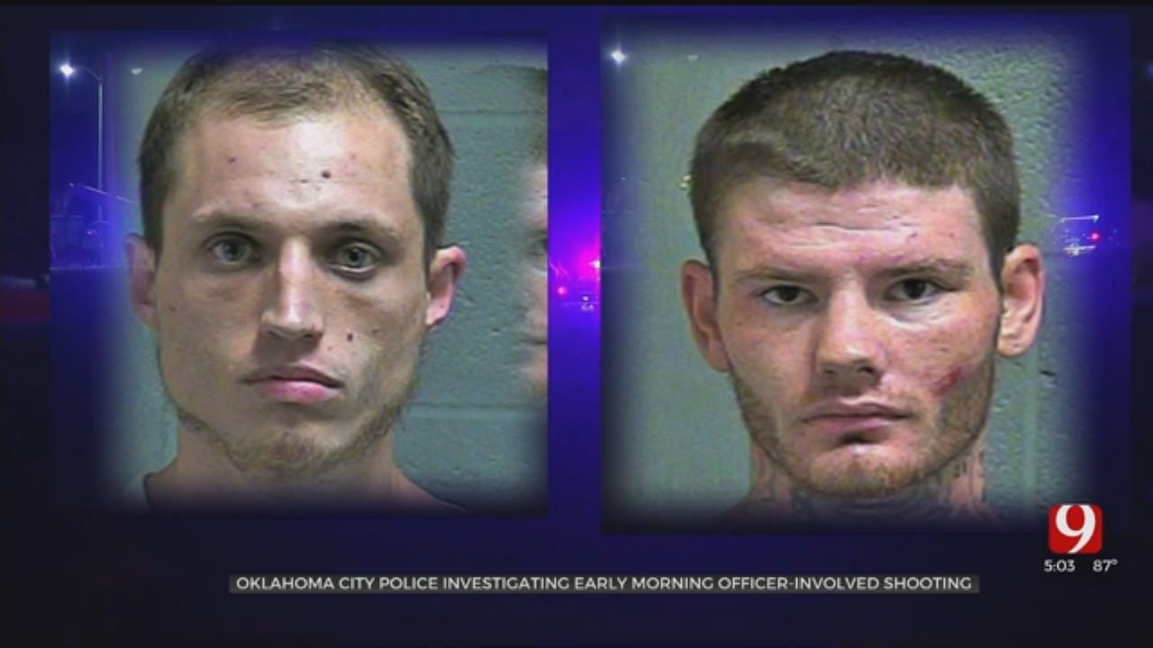 2 In Jail Following Officer-Involved Shooting During Traffic Stop In SW OKC