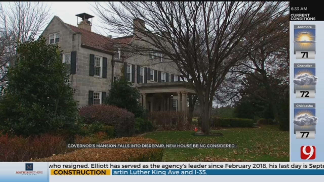 Governor's Mansion Falls Into Disrepair, New House Being Considered