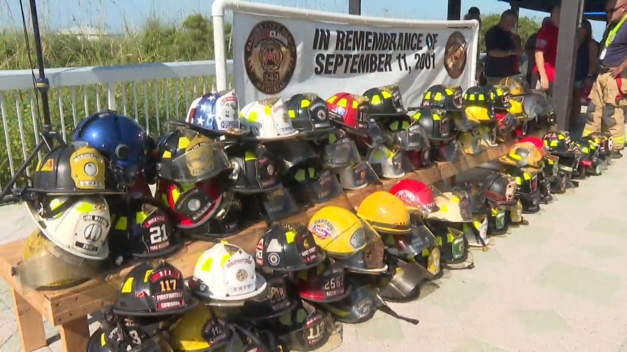 WATCH: 9/11 Memorial Stair Climb Event To Honor Fallen Heroes