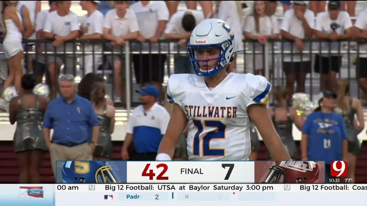 High School Football Roundup: Stillwater Vs. Edmond Memorial
