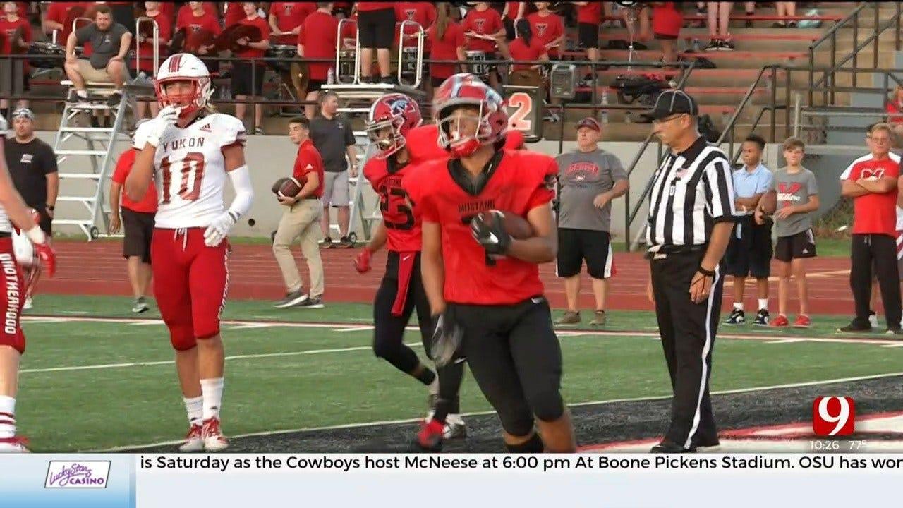High School Football Roundup: Yukon Vs. Mustang