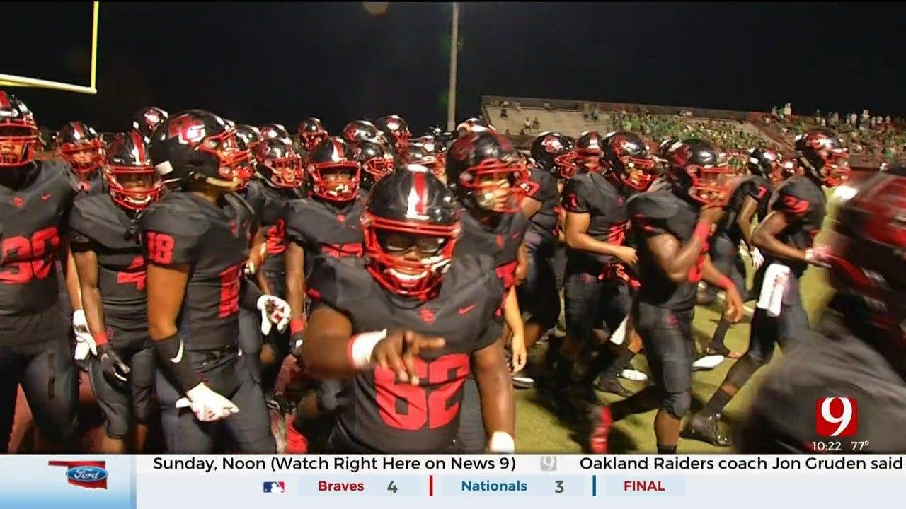 High School Football Roundup: Bishop McGuinness Vs. Del City