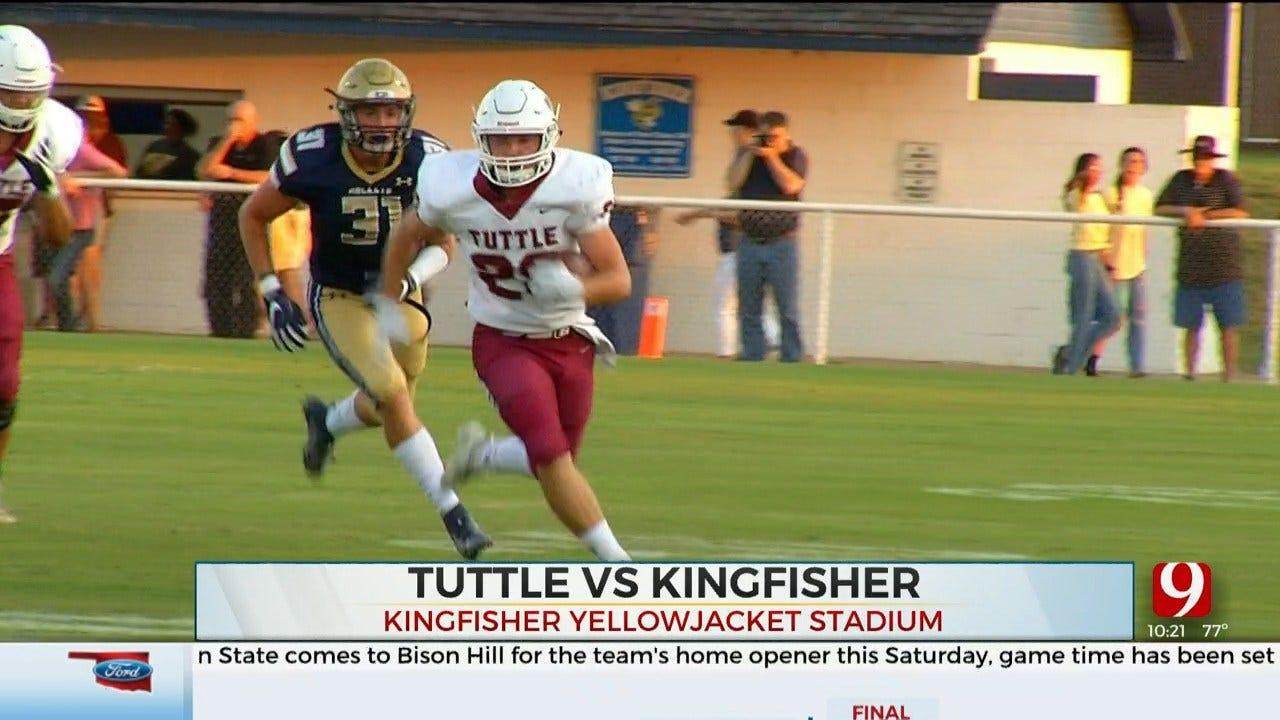 High School Football Roundup: Tuttle Vs. Kingfisher