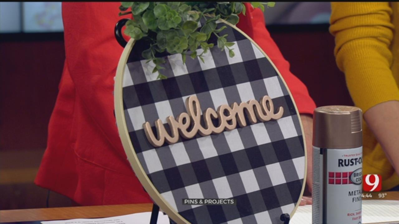 Pins & Projects: DIY Farmhouse Wreath