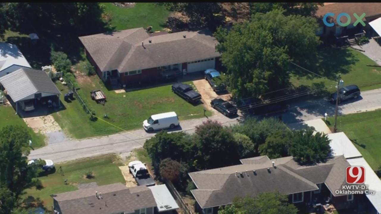 Oklahoma Co. Deputies Investigate A Shooting