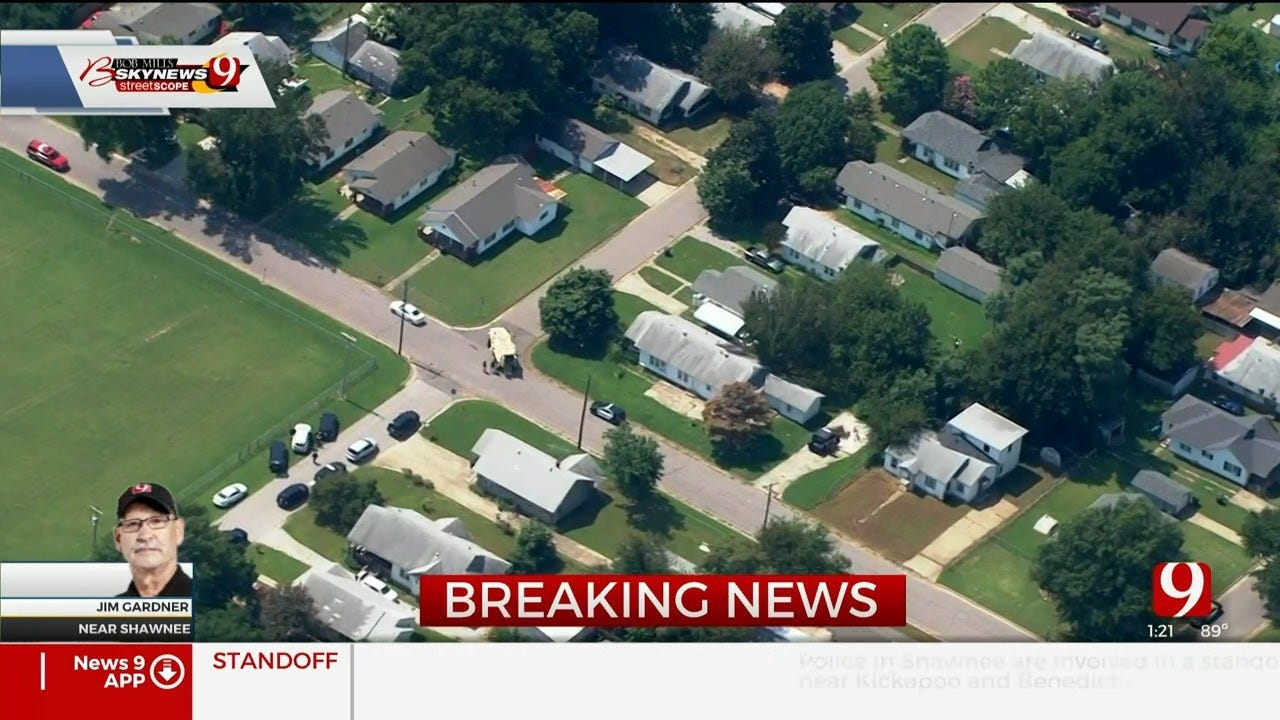 Shots Fired During Standoff With Shawnee Police