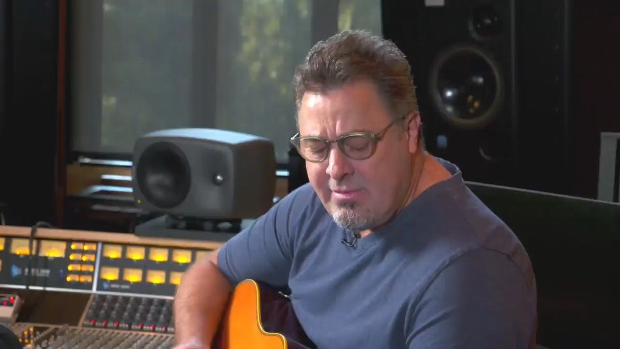 Oklahoma City-Native Vince Gill Talks About Okie, His Newest Album