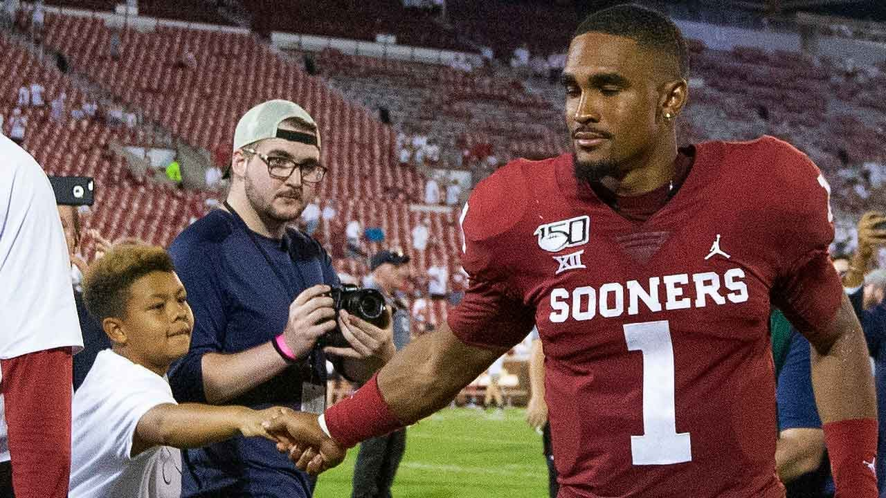 OU's Hurts Wows Everyone But Himself In Debut Game Against Houston