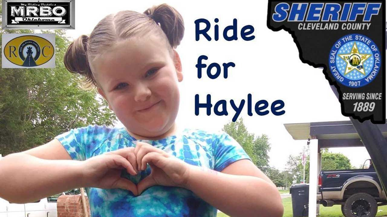 Cleveland Co. Sheriff's Office Organizes Ride For Recovering 7-Year-Old Dog Bite Victim