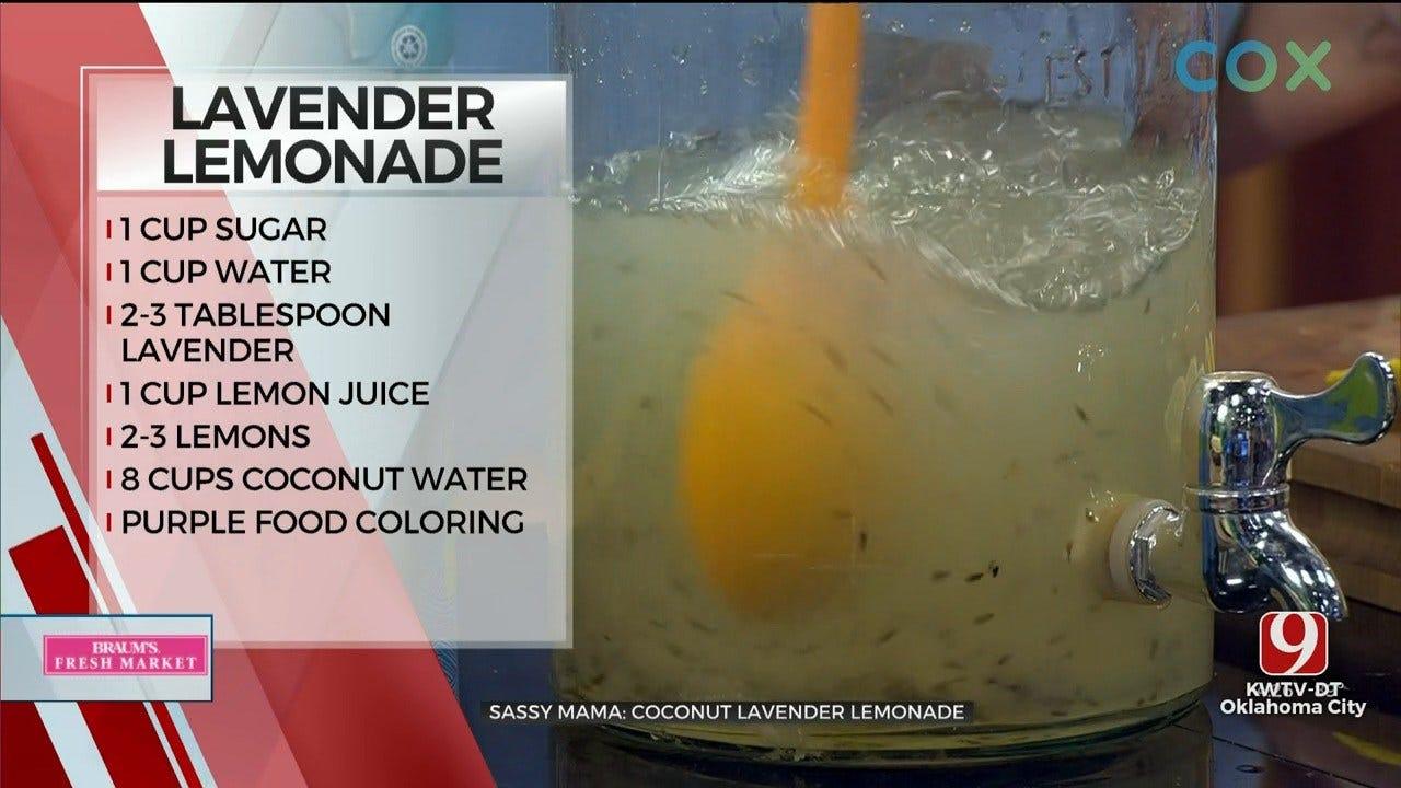 Coconut Lavender Lemonade