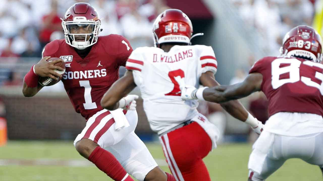 WATCH: Game Day Highlights Of No. 4 Oklahoma's Season Opener Against Houston