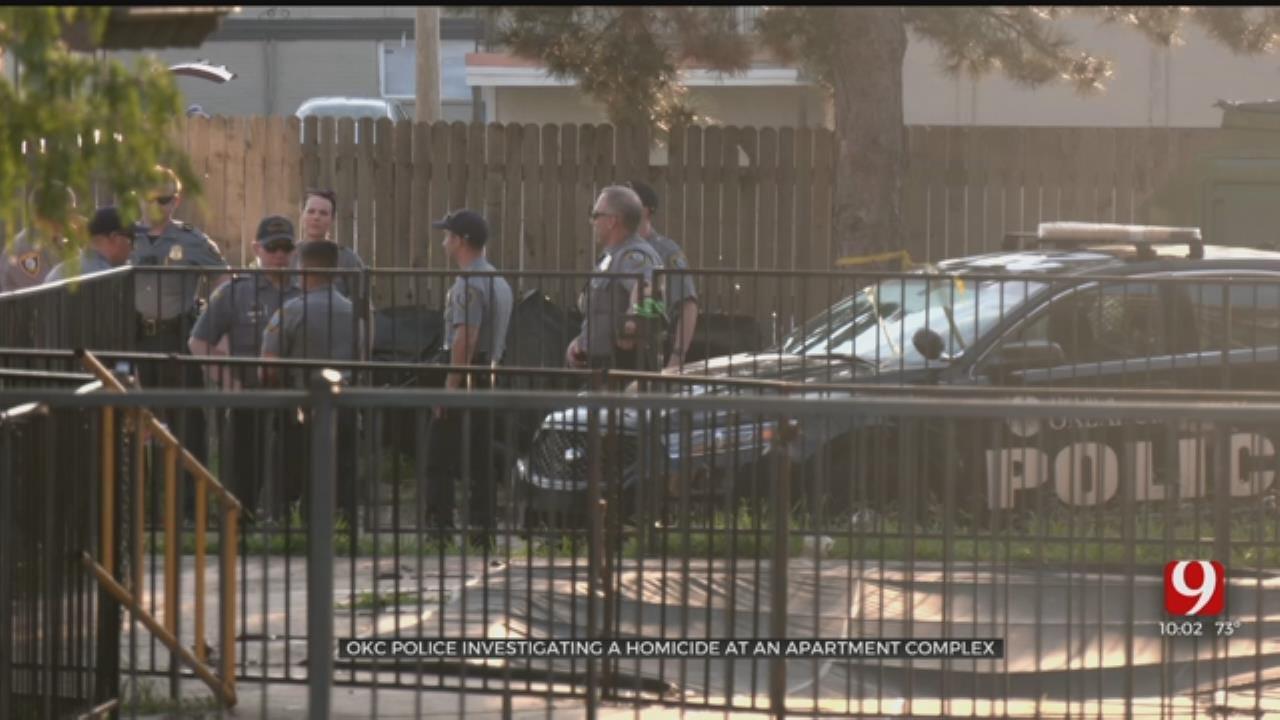 OCPD Investigate Homicide In Northwest Oklahoma City
