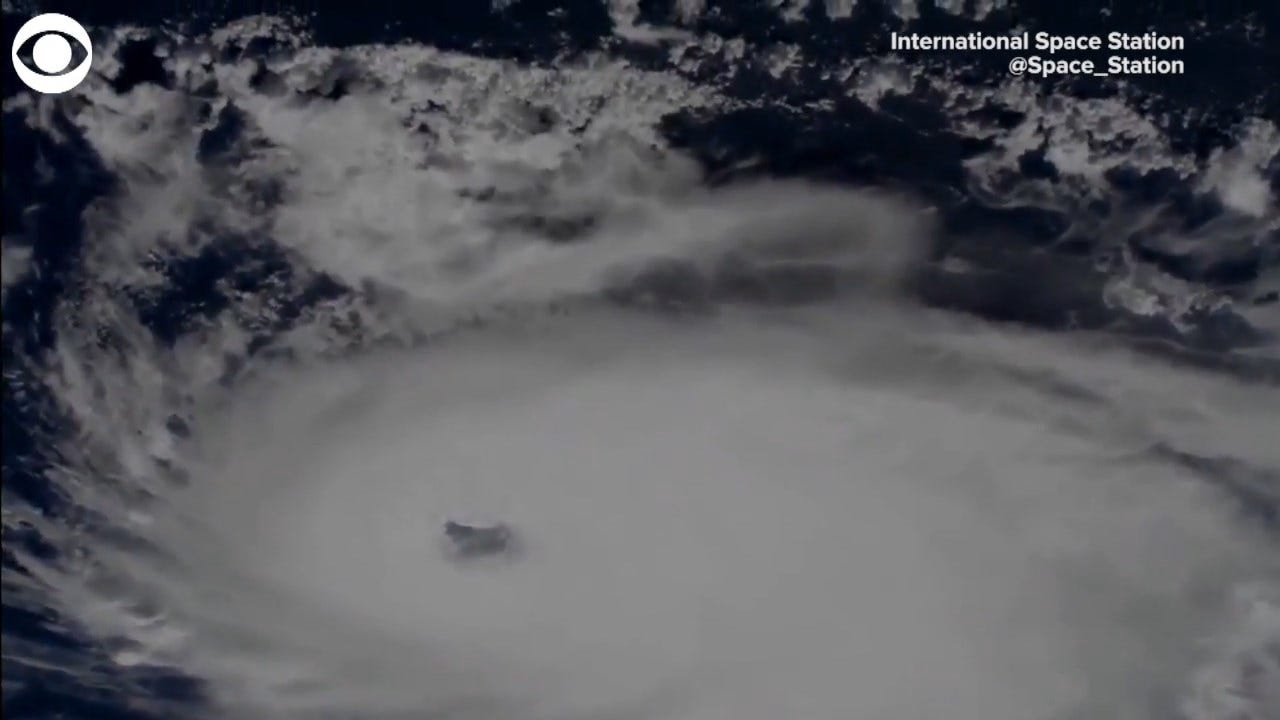 WATCH: Views Of Hurricane Dorian From The International Space Station