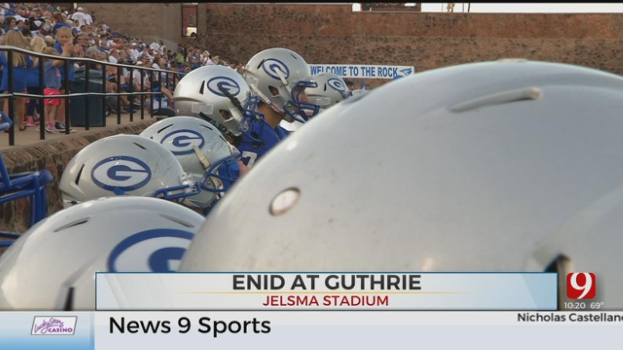Guthrie Hangs On For Win Over Enid
