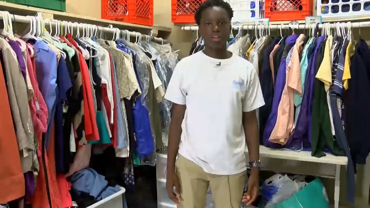 13-Year-Old Creates School Closet To Give Clothes And Supplies To Classmates In Need
