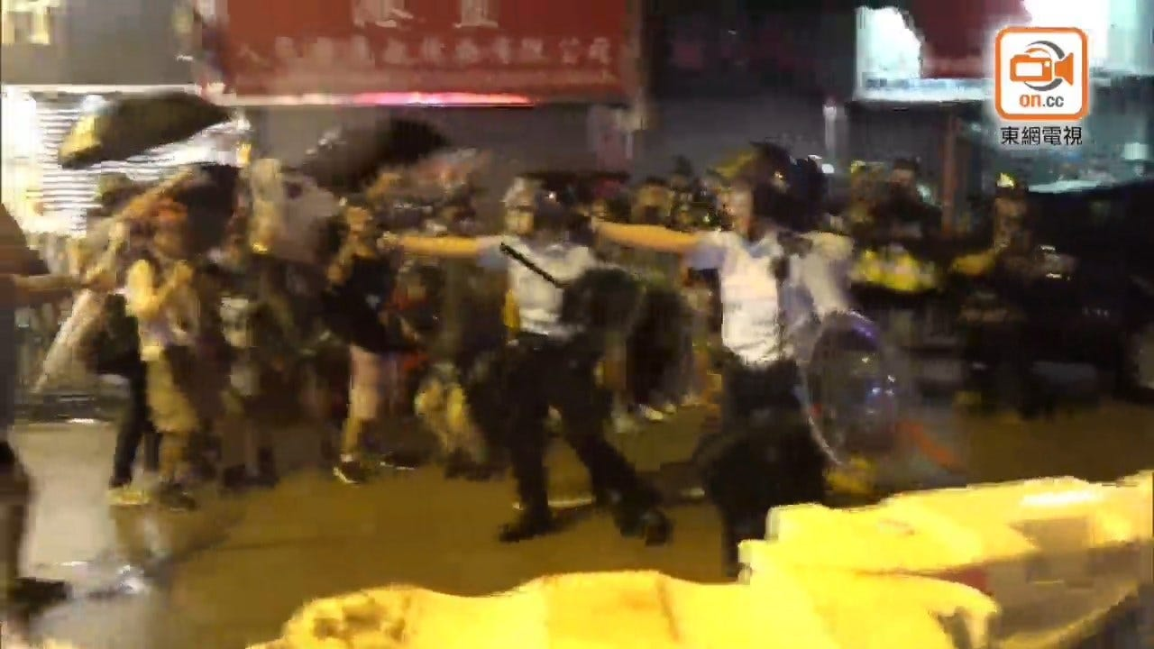 China Sends Fresh Troops To Hong Kong And Bans Planned Protest