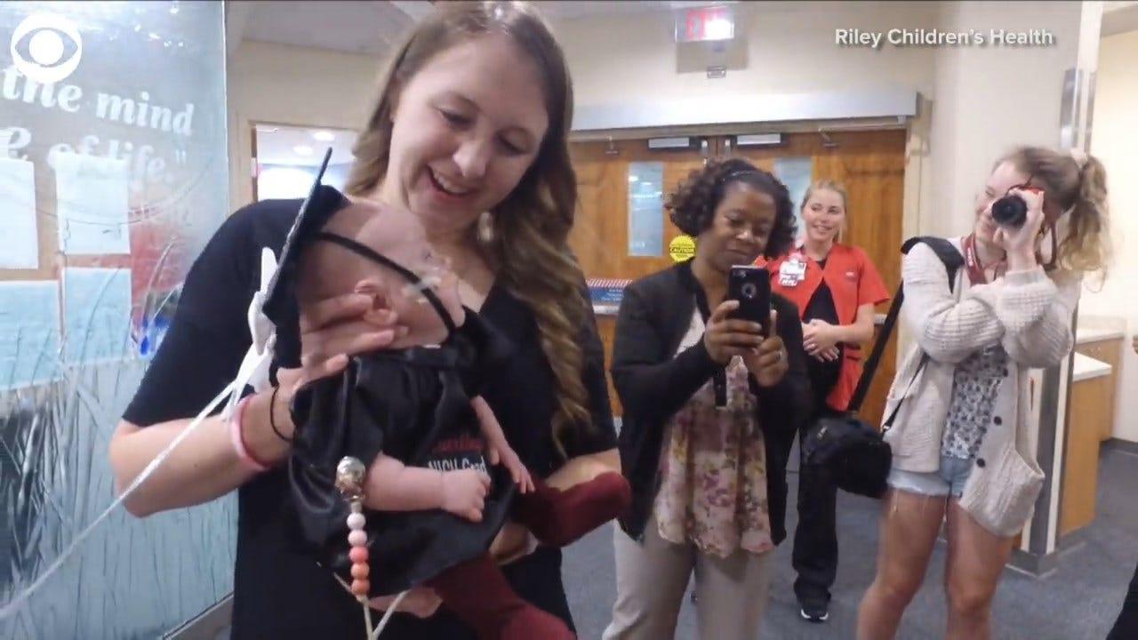 WATCH: Baby Graduates From NICU