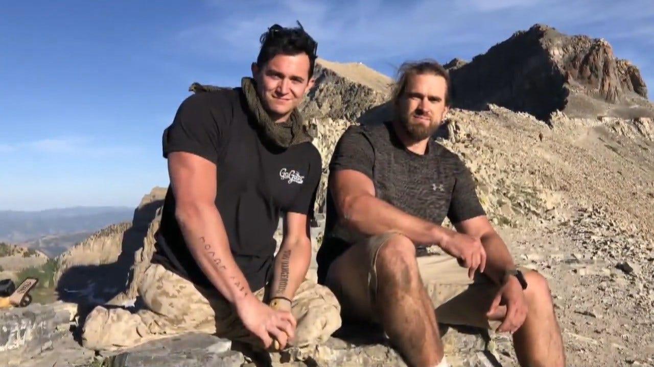 Veteran Carries Fellow Marine With No Legs More Than 14 Miles Up Utah Mountain