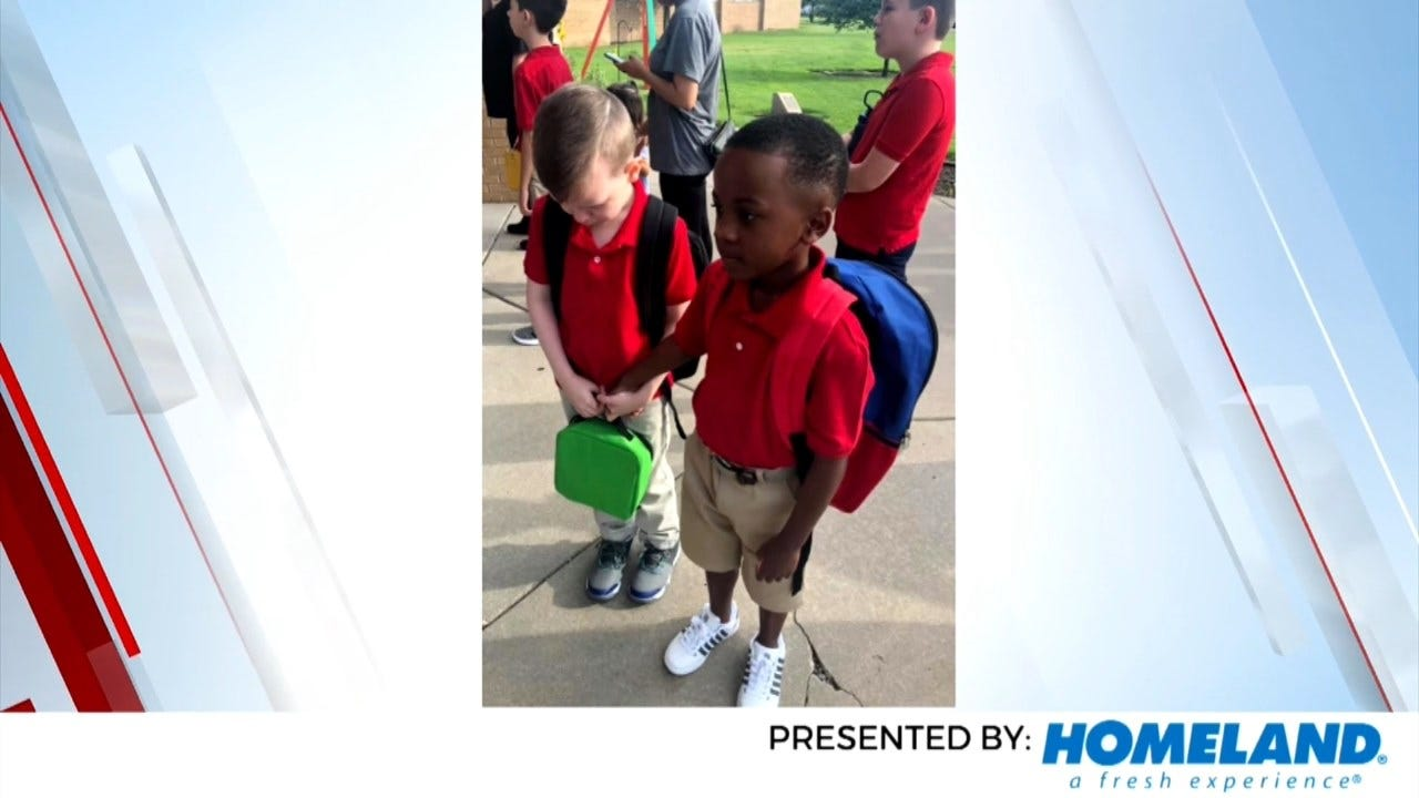 On A Good Note: Boy, 8, Goes Viral For Heartwarming Moment