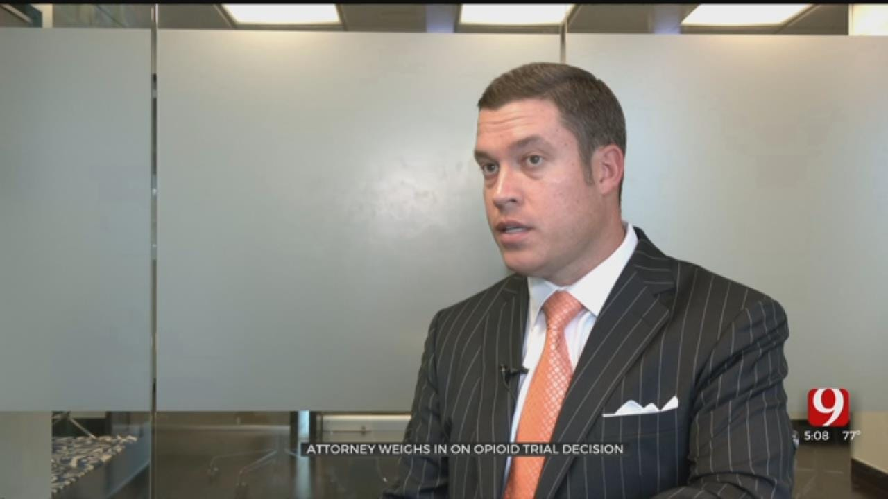 Oklahoma Attorney Weighs-In On Landmark Opioid Trial Decision