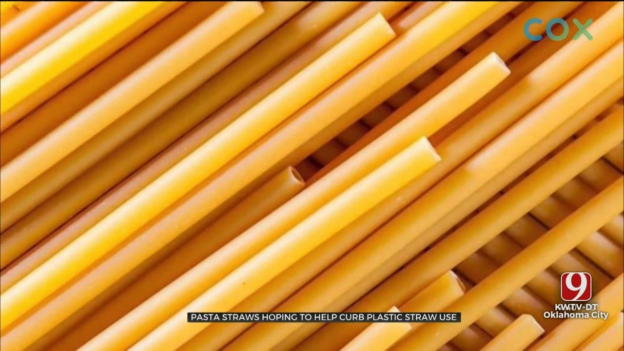 Pasta Straws Hoping To Help Curb Plastic Straw Use