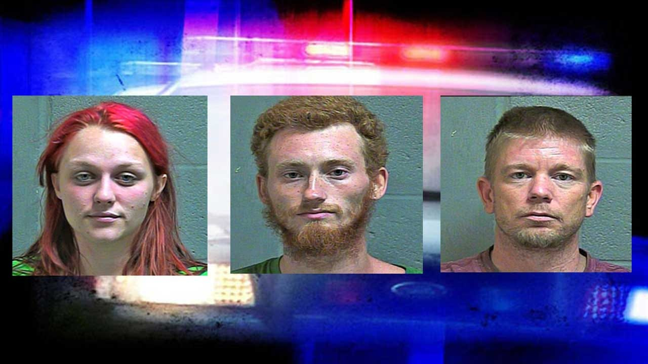 3 Accused Of Burglarizing Oklahoma County Law Enforcement Vehicles