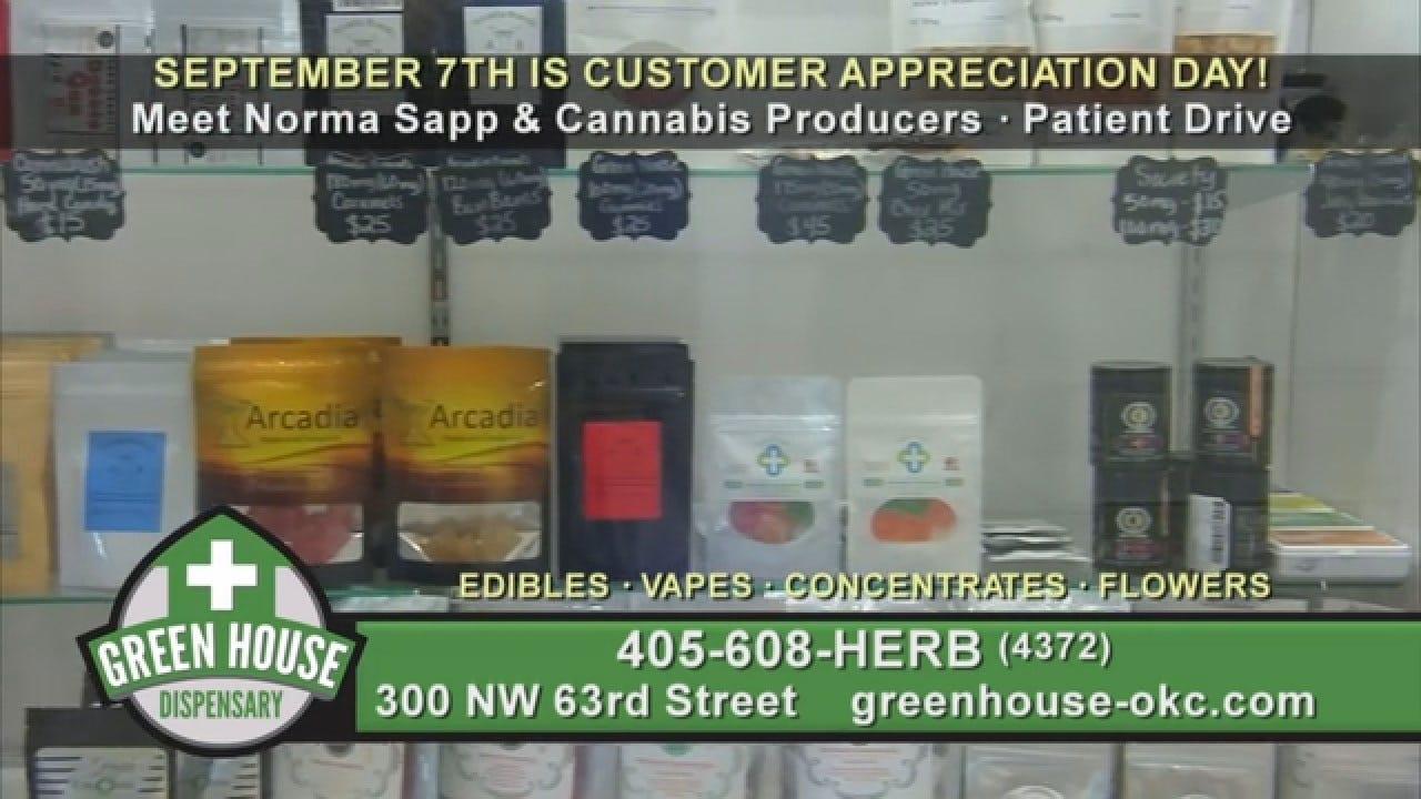 Green House Dispensary Customer Appreciation Pre-Roll - 08/2019