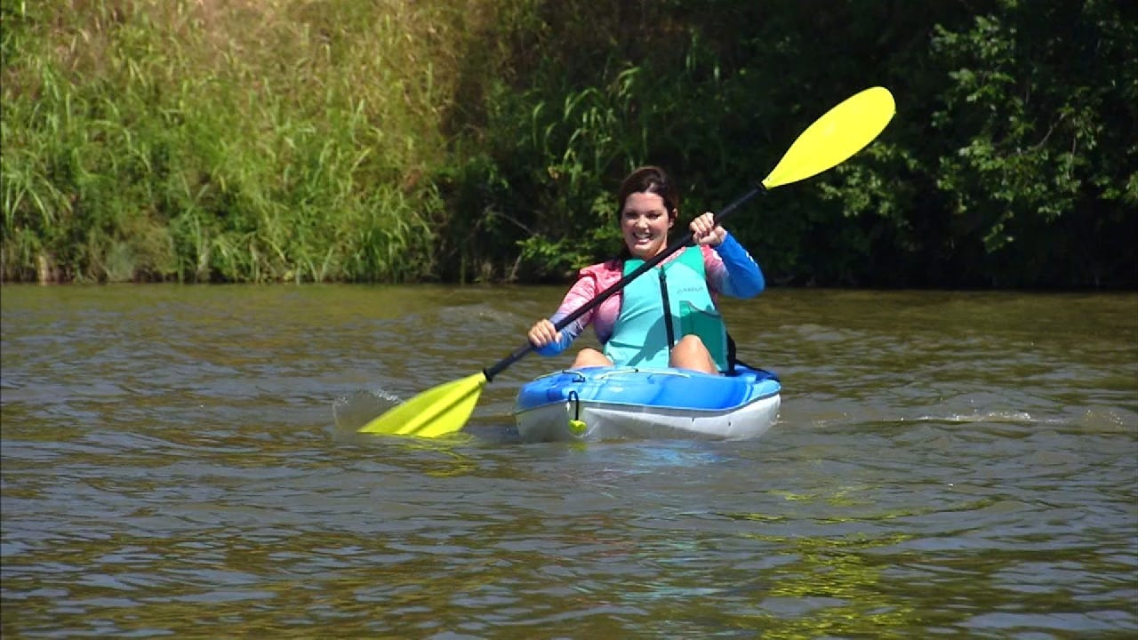Outdoor Life With Lacie Kayaking