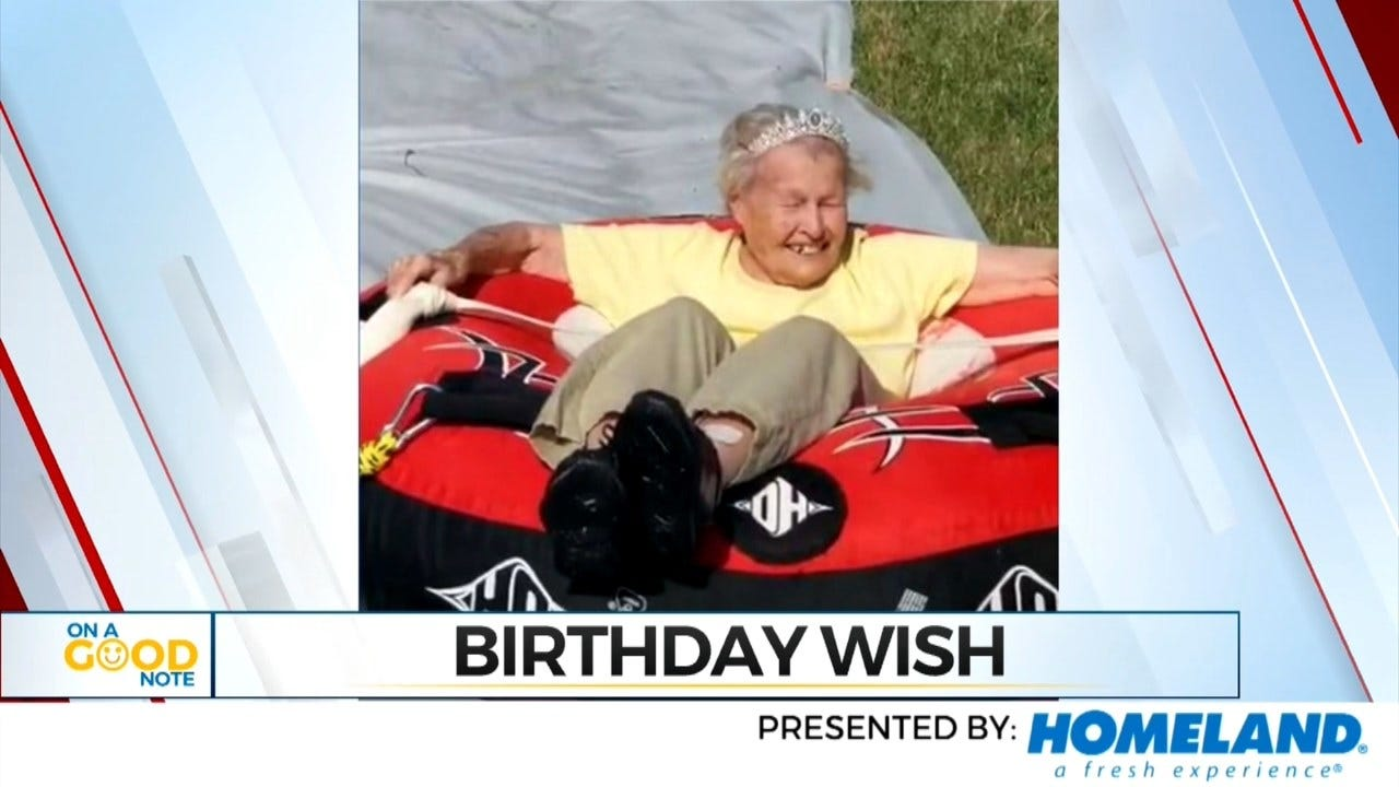On A Good Note: Assisted Living Center Grants Unique Wish To 101-Year-Old