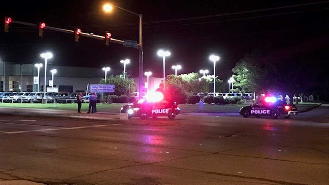 Man Struck By Vehicle In NW OKC