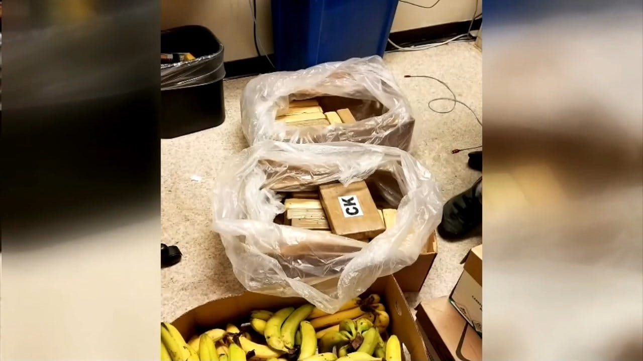 $1 Million Worth Of Cocaine Found In Bananas At Grocery Stores