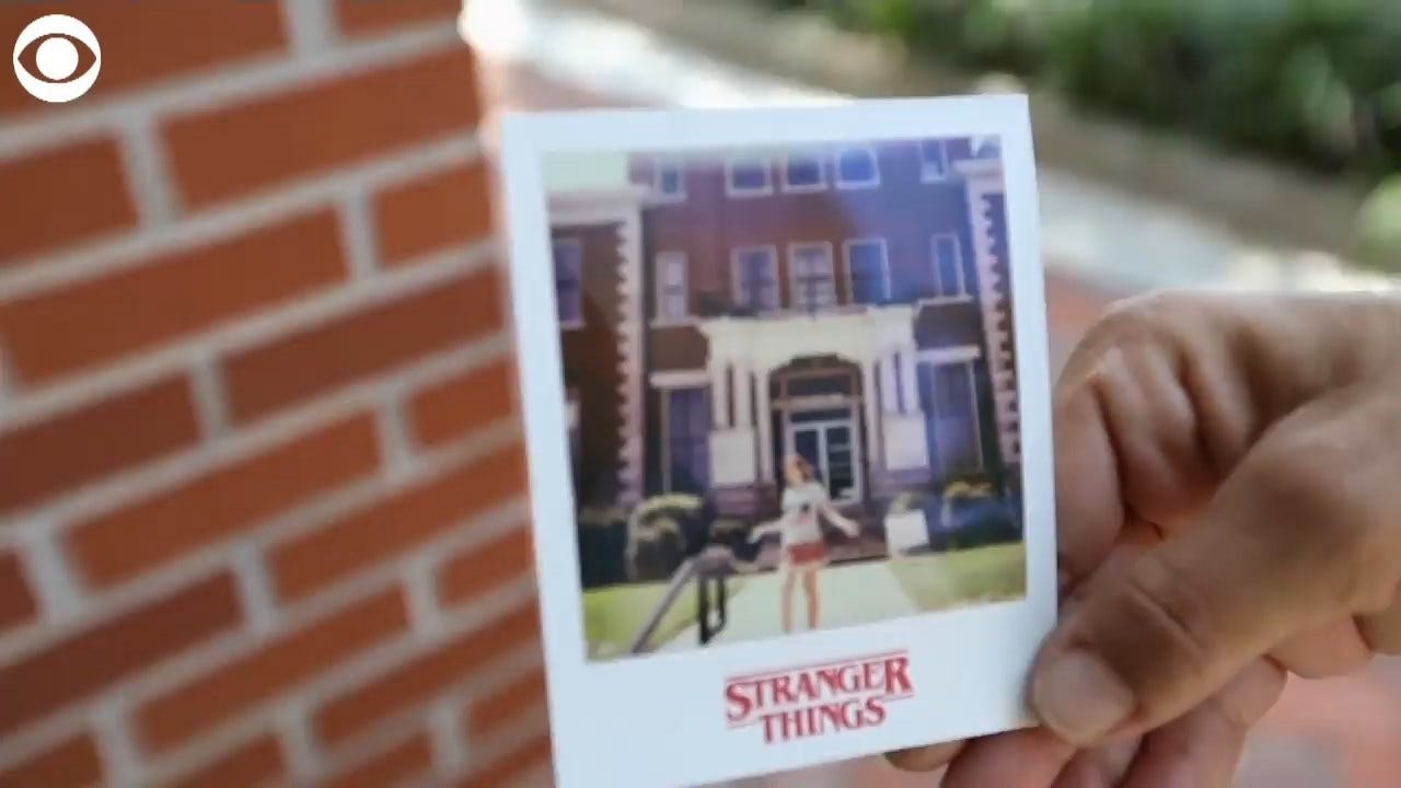 WATCH: Tourists Visit Stranger Things Location