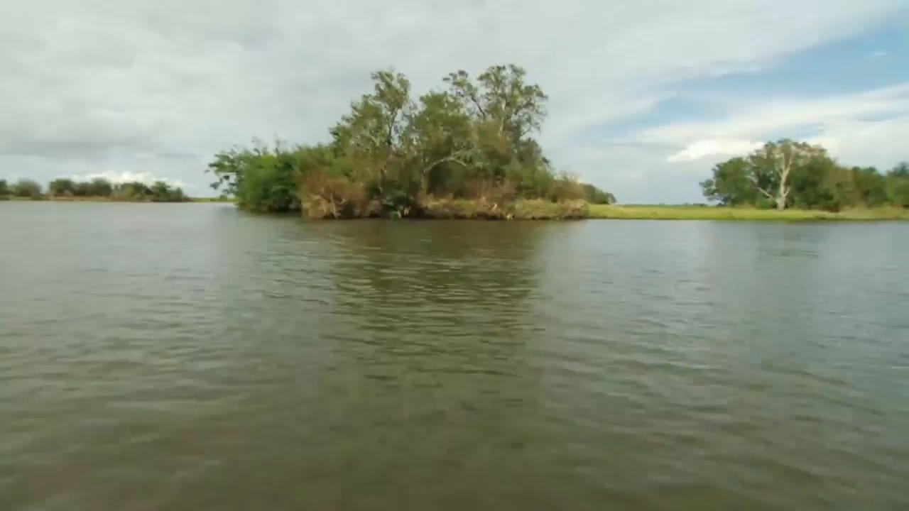Native Americans May Lose Their Homes To Rising Waters On Louisiana Island