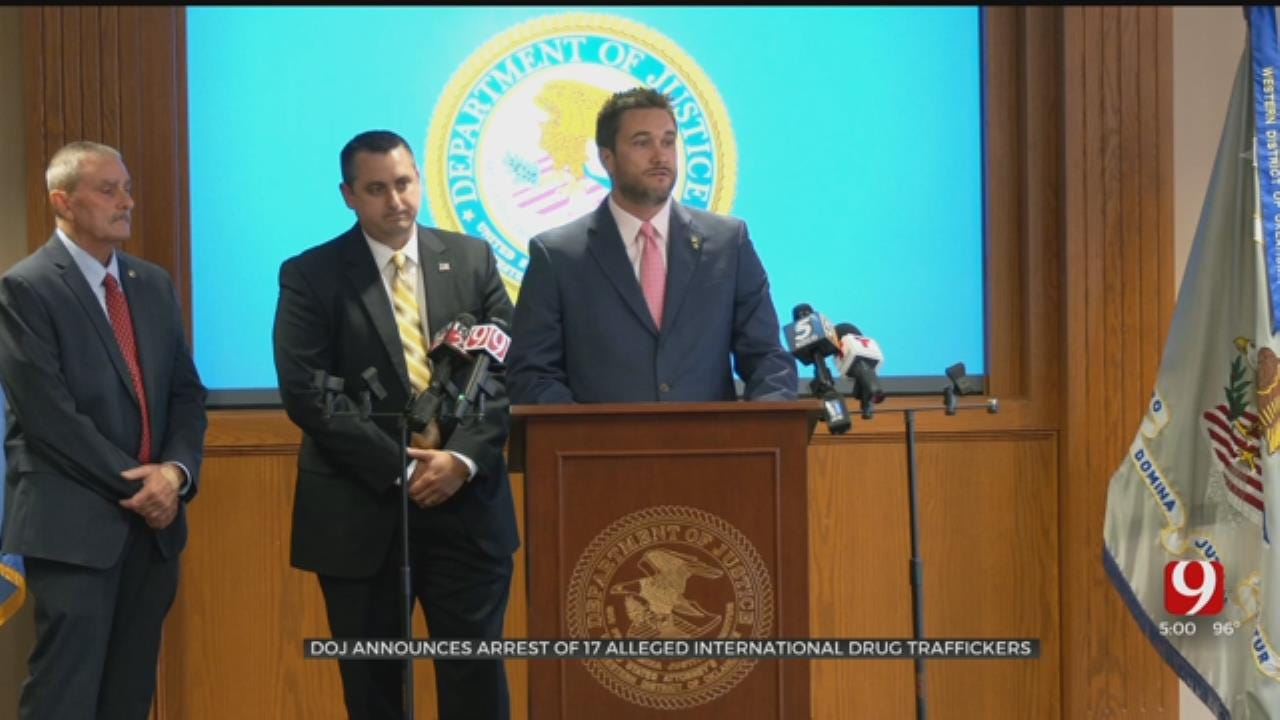 Feds Charge 19 In OKC-Area Heroin, Meth Distribution Ring