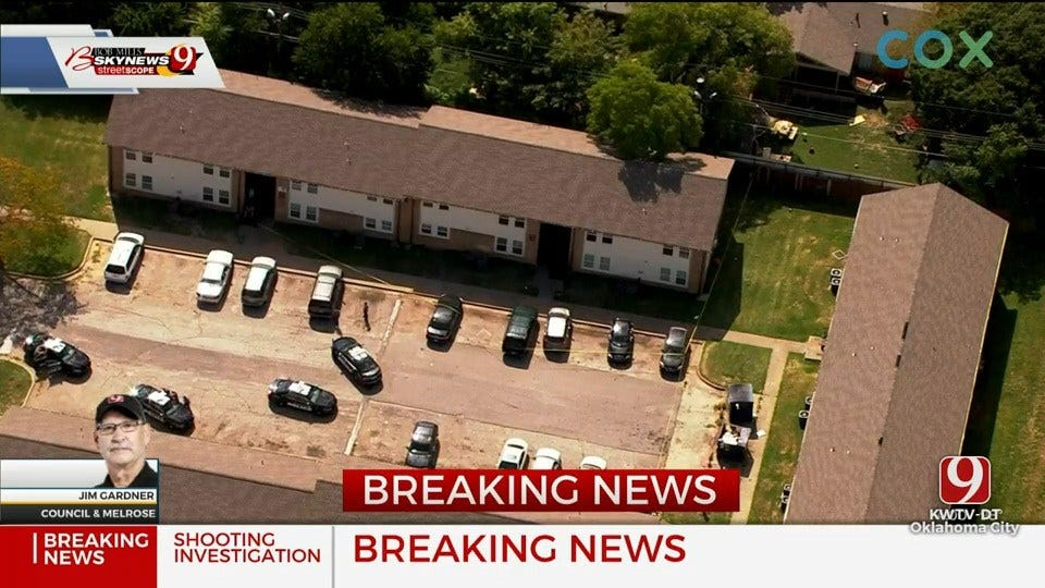 Police Investigate Shooting At Apartment Complex In NW OKC