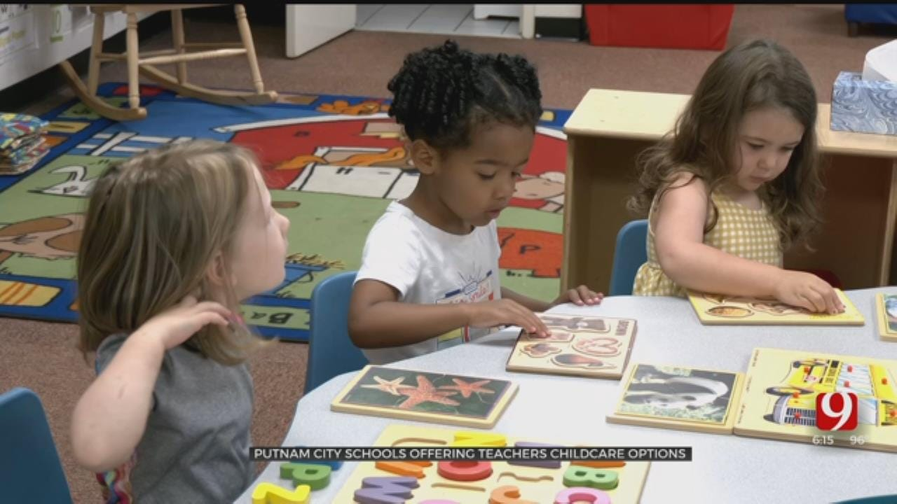 Children Of Putnam City Teachers Thrive At District Day Care