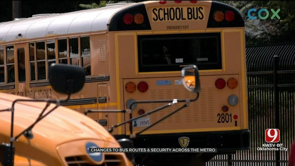 OKCPS Makes Changes To Bus Routes, Security