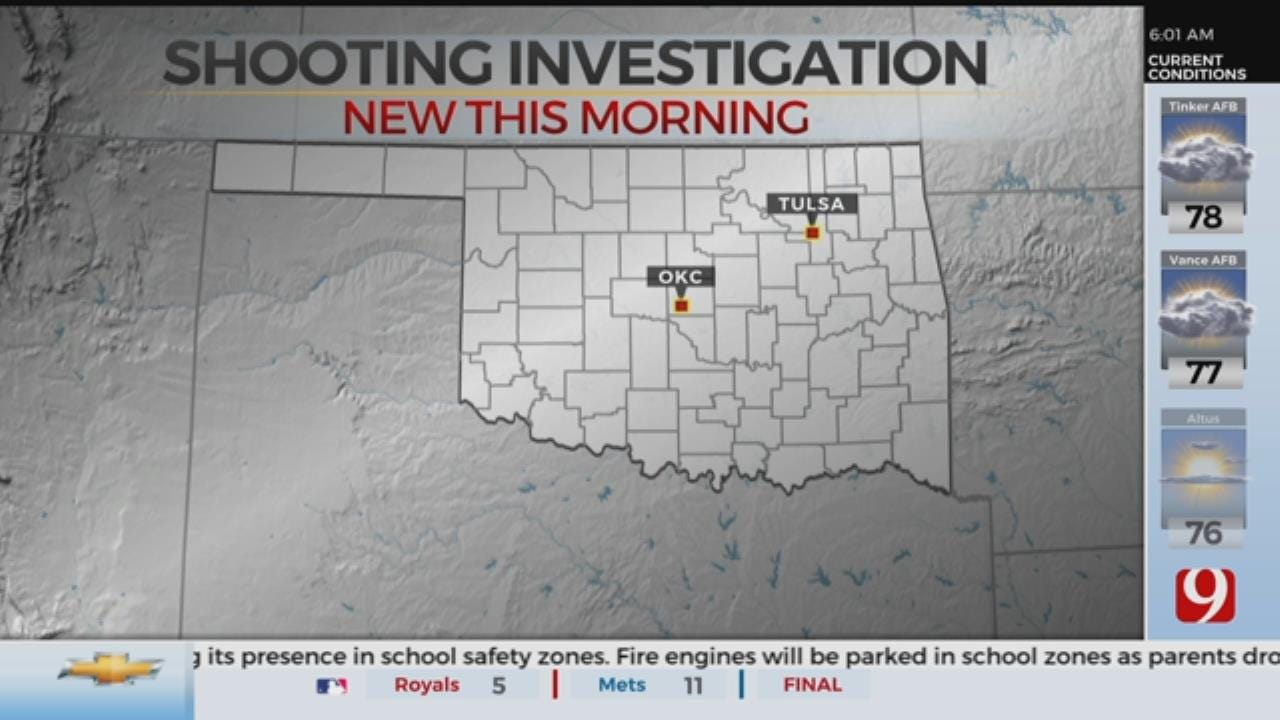 Chickasha Police Investigate Drive-By Shooting