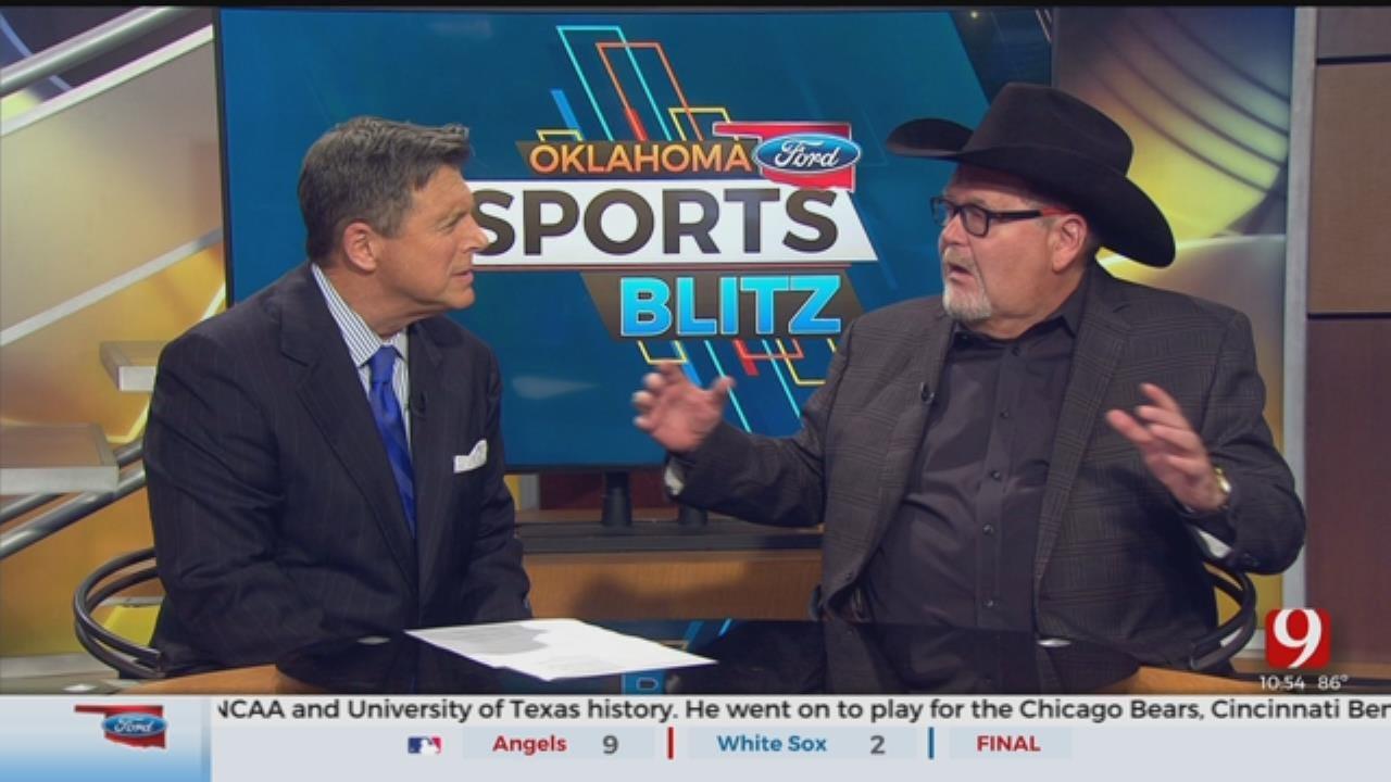 Legendary Wrestling Announcer Jim Ross Joins The Blitz To Discuss His Career