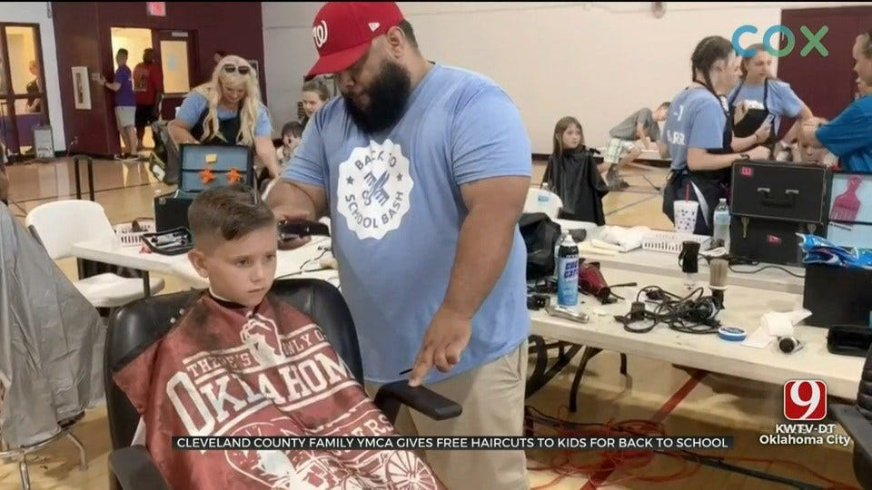 Cleveland County Family YMCA Gives Free Back To School Haircuts To Kids