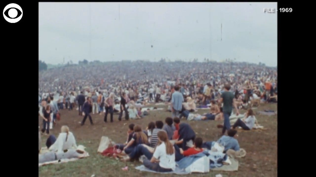 A Look Back At Woodstock 50 Years Later