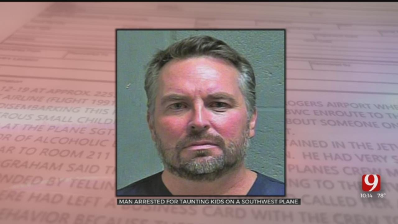 OKC Man Faces Terrorism Complaint After Behavior On Flight