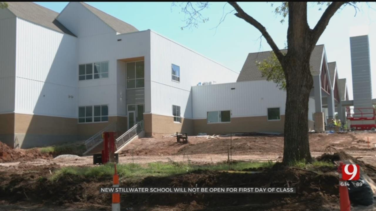New Stillwater Elementary School Delays First Day For Classes