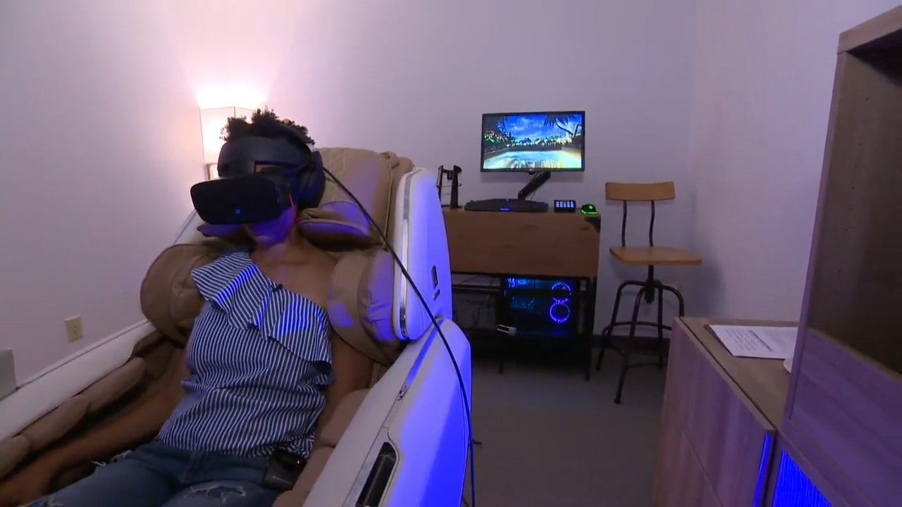 Spa Offers Virtual Reality Experience