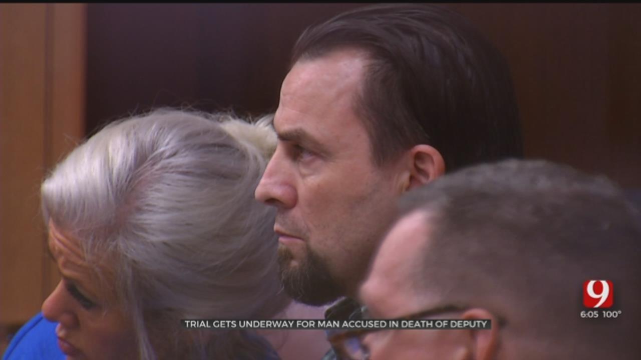 Trial Underway For Man Accused In Murder Of Logan County Deputy