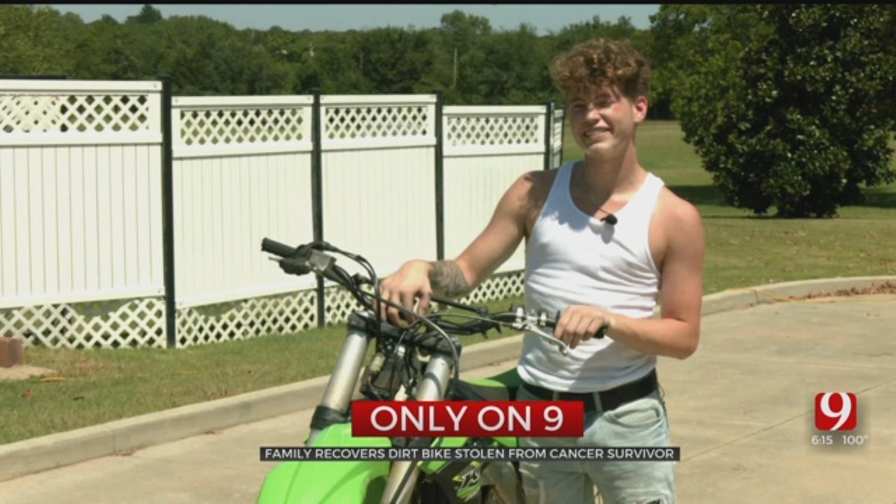 Teen Cancer Survivor Recovers Stolen Make-A-Wish Gift