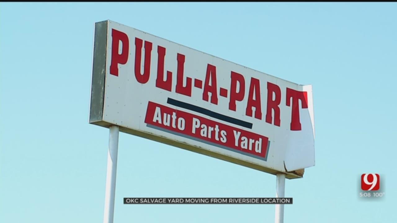 OKC Salvage Yard Sale Provides Opportunity Along The River